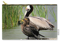Pelican And Twins Carry-all Pouch