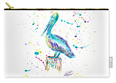 Pelican By Jan Marvin Carry-all Pouch