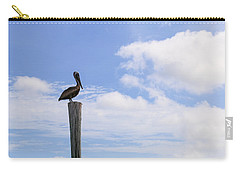 Pelican In The Clouds Carry-all Pouch