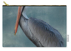 Carry-all Pouch featuring the photograph Pelican Portrait by Benanne Stiens