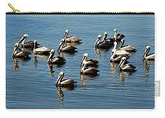 Pelicans Blue Carry-all Pouch