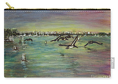 Pelicans Fly Carry-all Pouch