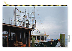 Pelicans Looking For Lunch Carry-all Pouch
