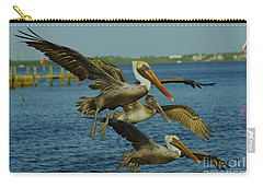 Pelicans Three Amigos Carry-all Pouch