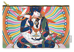 Pema Heruka Guhya Jnana Dakini Carry-all Pouch by Sergey Noskov
