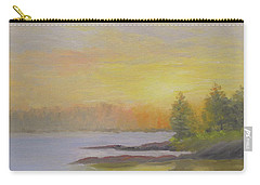 Pemaquid Beach Sunset Carry-all Pouch