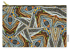 Pemaquid Rocks Pinwheel Carry-all Pouch by Peter J Sucy