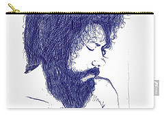 Pen Portrait Carry-all Pouch by Ron Bissett