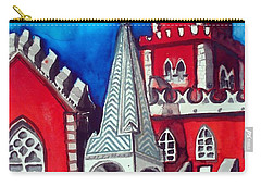 Pena Palace In Portugal Carry-all Pouch by Dora Hathazi Mendes