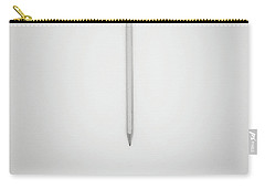 Pencil On A Blank Page Carry-all Pouch