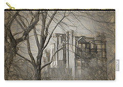 Pencil Sketch Of Beacon Hill Carry-all Pouch