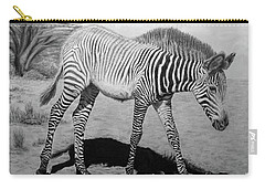 Carry-all Pouch featuring the painting Penda by Jennifer Watson