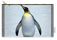 Penguin Christmas Carry-all Pouch by Steve Karol