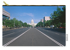 Pennsylvania Avenue, Washington Dc Carry-all Pouch by Panoramic Images