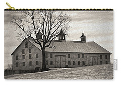 Carry-all Pouch featuring the digital art Pennsylvania Barn by Robert Geary