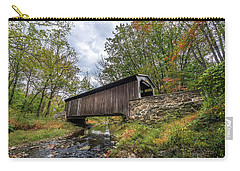 Pennsylvania Covered Bridge In Autumn Carry-all Pouch