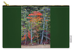 Carry-all Pouch featuring the photograph Pennsylvania Laurel Highlands Autumn by John Stephens
