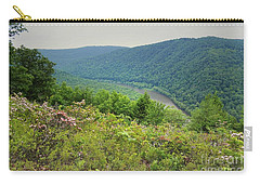 Pennsylvania Mountain Outlook Carry-all Pouch by Andrea Hazel Ihlefeld