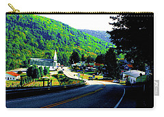 Pennsylvania Mountain Village Carry-all Pouch