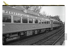 Pennsylvania Reading Seashore Lines Train Carry-all Pouch by Terry DeLuco