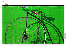Penny Farthing Bike Carry-all Pouch by Garry Gay