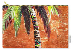 Penny Palm Carry-all Pouch by Kristen Abrahamson