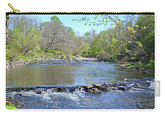 Carry-all Pouch featuring the photograph Pennypack Creek - Philadelphia by Bill Cannon