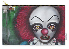 Pennywise Carry-all Pouch by Abril Andrade Griffith