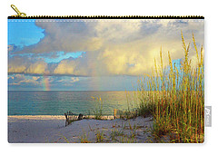 Pensacola Rainbow At Sunset Carry-all Pouch