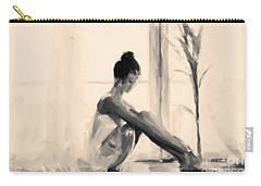 Pensive Ballerina Carry-all Pouch