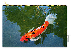 Pensive Koi Carry-all Pouch