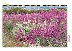 Penstemon At Black Hills Carry-all Pouch by Karen Stephenson