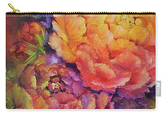Peonies At Sunset Carry-all Pouch