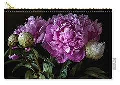 Peonies Still Life Carry-all Pouch
