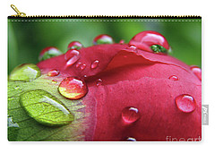 Peony Drops 2 Carry-all Pouch