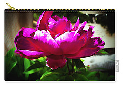 Peony Carry-all Pouch by Joseph Frank Baraba