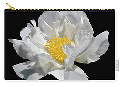 Peony June Carry-all Pouch by Diane E Berry