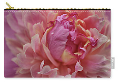 Peony Opening Carry-all Pouch by Sandy Keeton