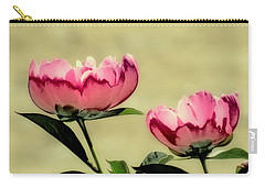 Peony Pair - Enhanced Carry-all Pouch