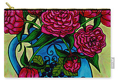 Peony Party Carry-all Pouch