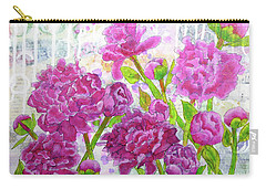 Peony Profusion Carry-all Pouch