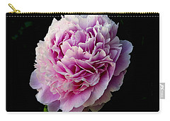 Carry-all Pouch featuring the photograph Peony by Rhonda McDougall