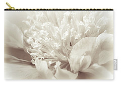 Peony 5 Carry-all Pouch by Bonnie Bruno
