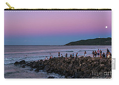 People Watch The Sun Set Carry-all Pouch
