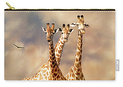 People Watchers Carry-all Pouch by Diane Schuster