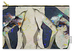 People Watching - A Gathering Carry-all Pouch by Ed Hall