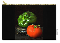 Pepper And Tomato Carry-all Pouch