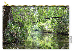 Carry-all Pouch featuring the photograph Pepper Creek by Carol Bradley