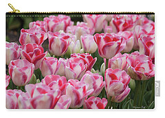 Peppermint Tulip Field IIi Carry-all Pouch