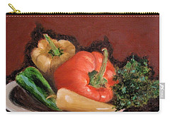Peppers And Parsley Carry-all Pouch